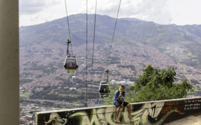 MEDELLIN –COMUNA 13, CABLE CARS AND WALKING TOURS