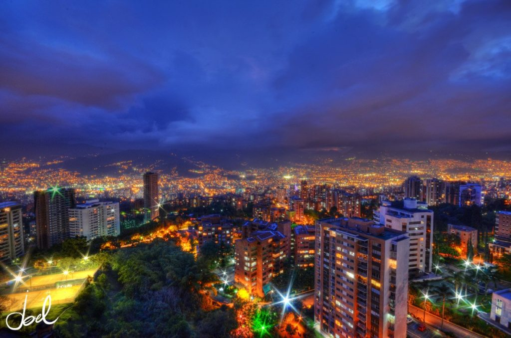 trip to medellin landscape photo